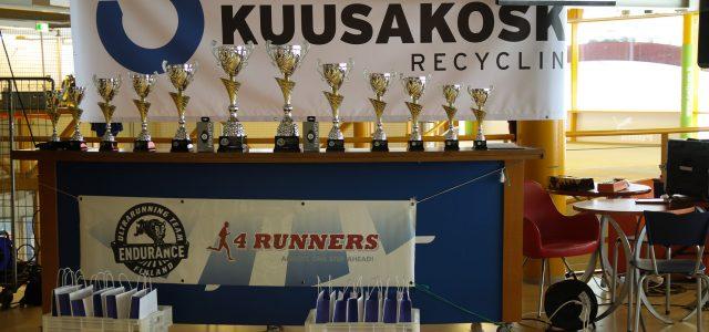 Endurance 24h 2019 palkintopöytä